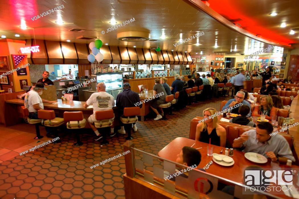Classic 1950's Diner, Bob's Big Boy, Riverside Drive