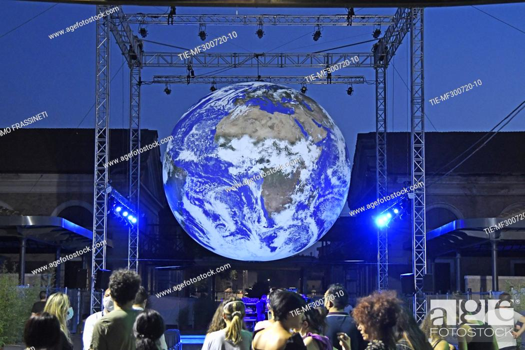 Stock Photo: Luke Jerram's Gaia is a reproduction of the planet, created through the combination of high definition images provided by NASA.