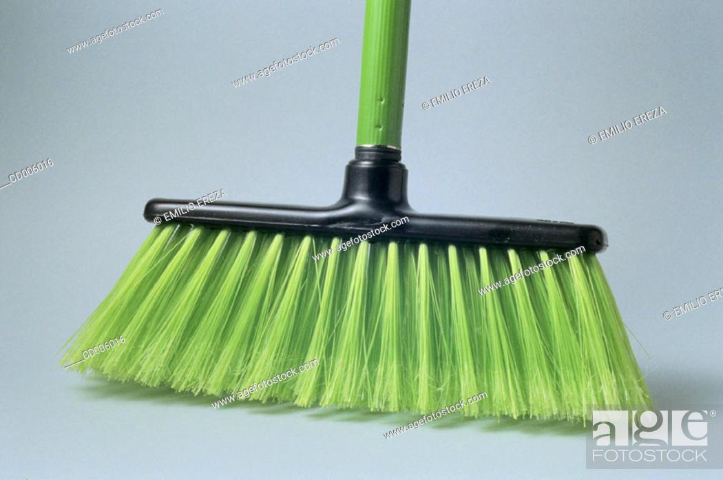 Stock Photo: Broom.