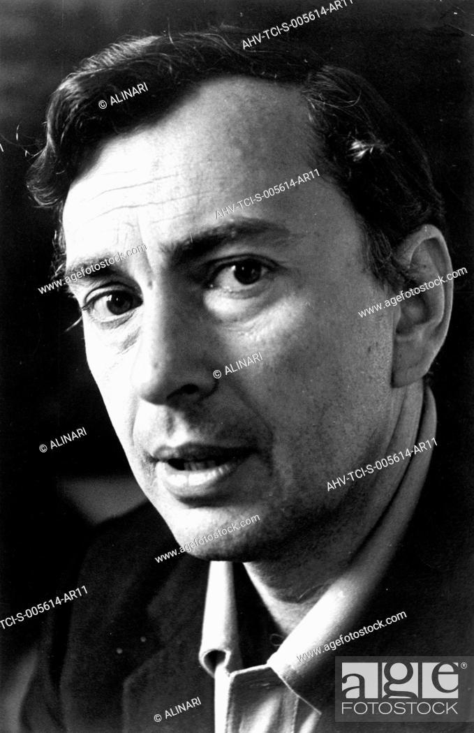Stock Photo: portrait of Gore Vidal, 1969.