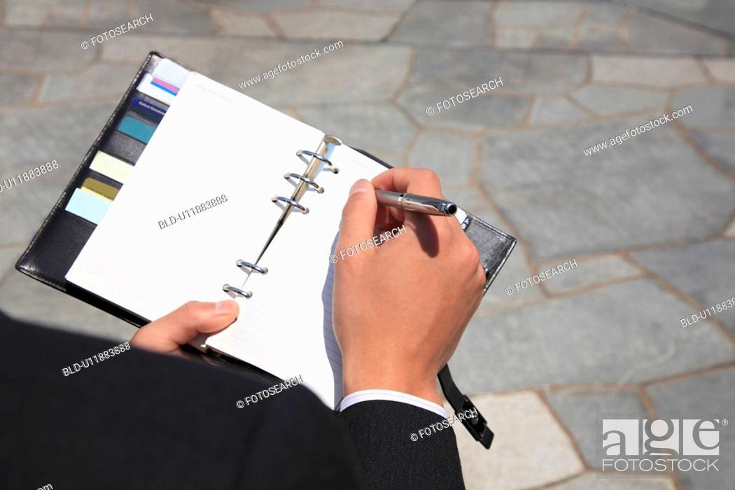 Stock Photo: Pocket notebook.