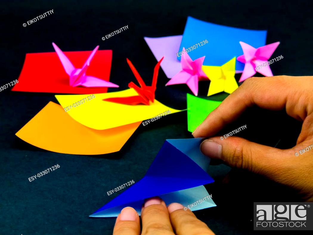 How to fold an Origami Moving Flexagon - Better than a fidget ...   699x932