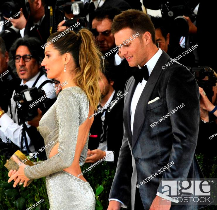 The Met Gala 2017 - Arrivals Featuring: Gisele Bundchen, Tom Brady