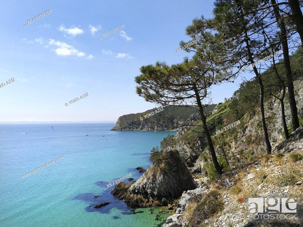 Stock Photo: France, Finistere, Crozon, Ile Vierge.