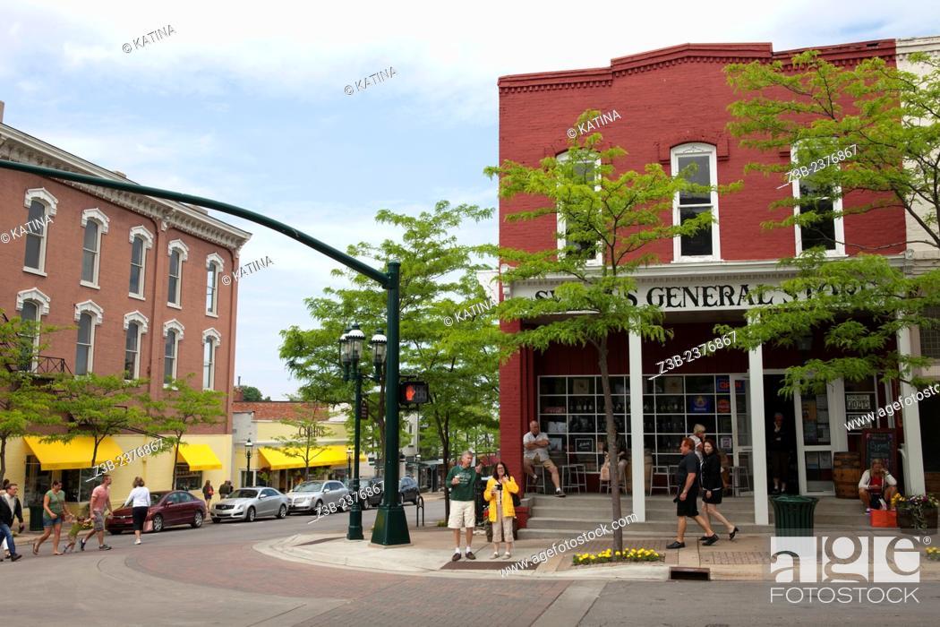 Imagen: Symon's General Store in downtown Petoskey, Michigan, MI, USA.