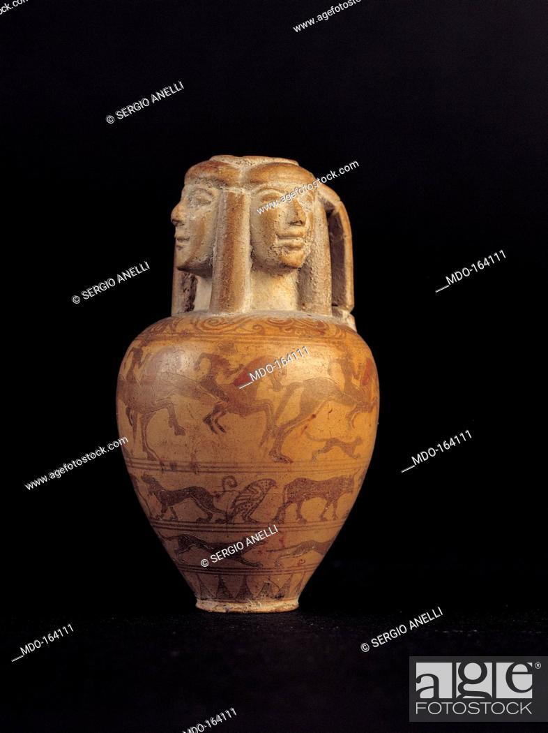 Vase By Unknown Artist 7th Century Italy Puglia Taranto