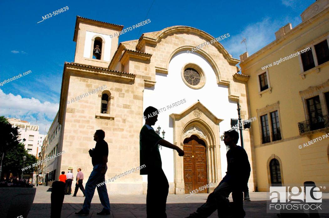 Stock Photo: Virgen del Mar church. Almería. Andalucia. Spain.