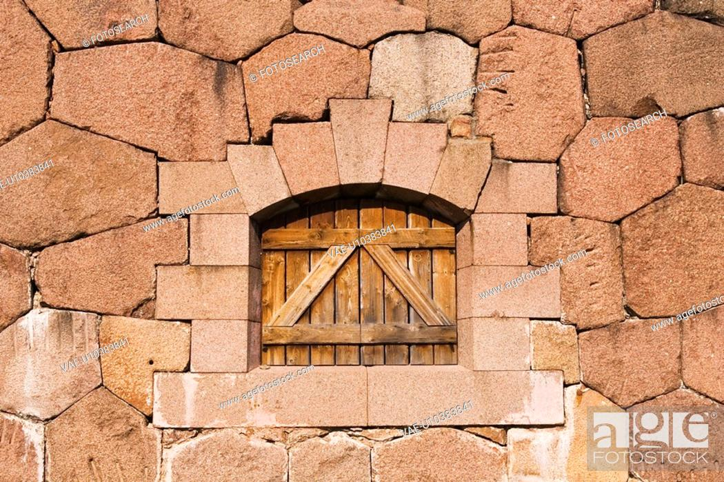 Stock Photo: Outdoors, Wall.