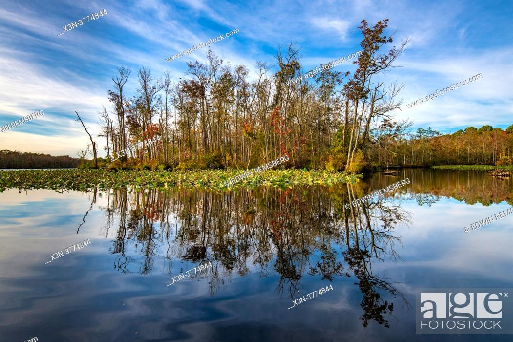 Stock Photo: Chicamacomico River - Eastern Shore Maryland.