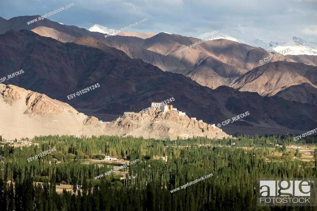 Stock Photo: Matho Monastery is a Buddhist monastery in Ladakh, India.