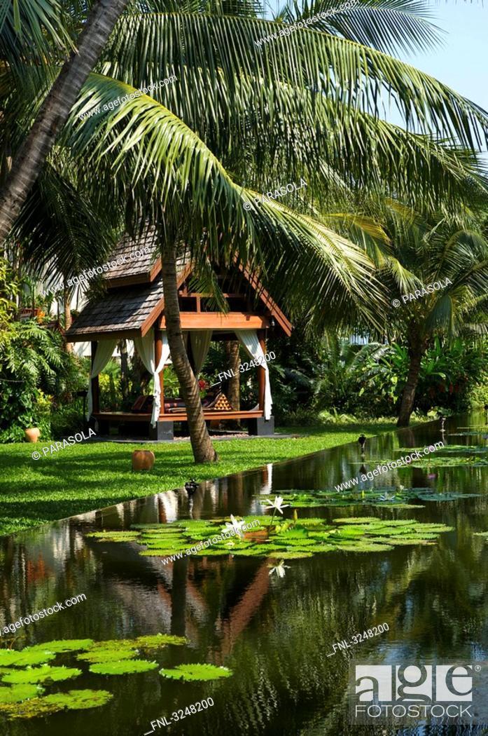 Stock Photo: Anantara Hotel, Mae Nam Beach, Ko Samui, Thailand.