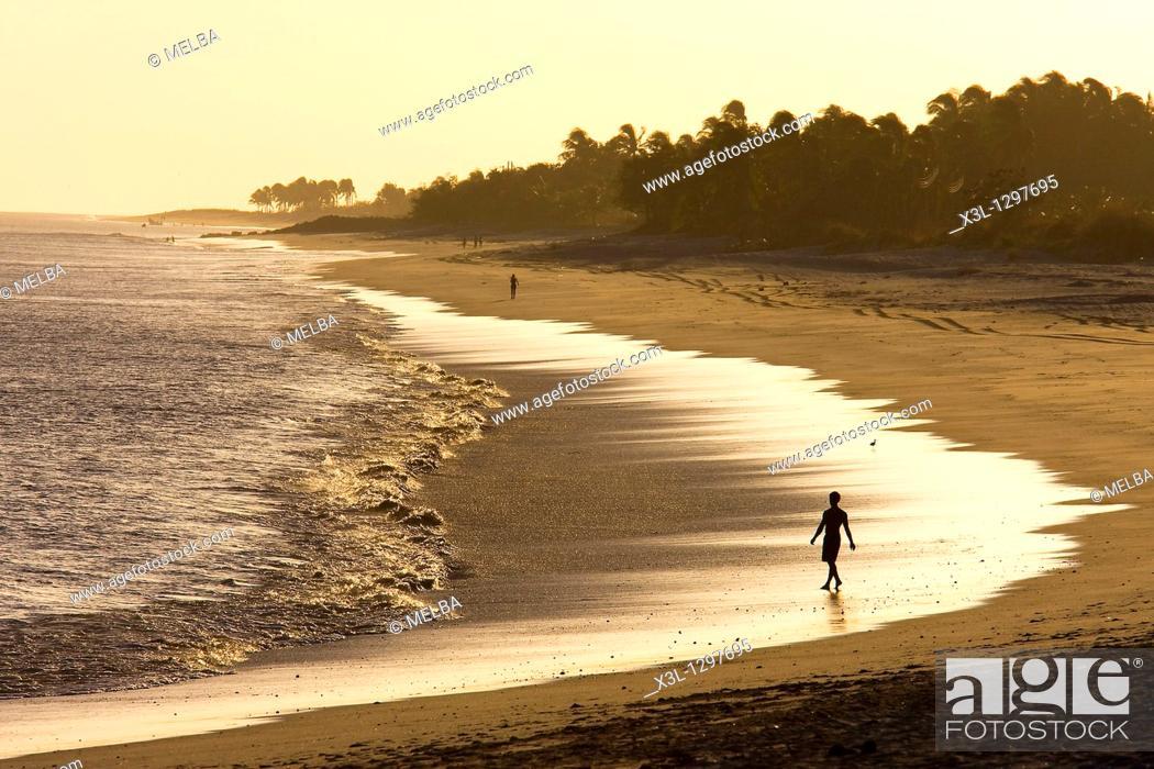Stock Photo: Santa clara beach, Pacífico, Panamá.
