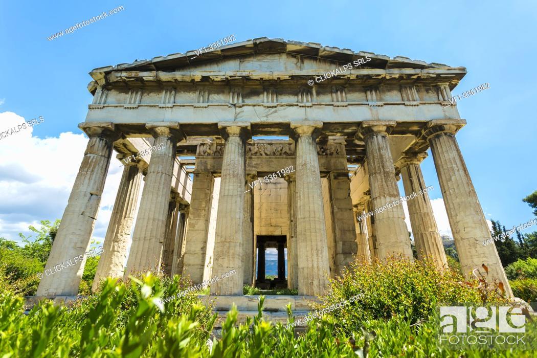 Photo de stock: The Acropolis, Athens, Greece.