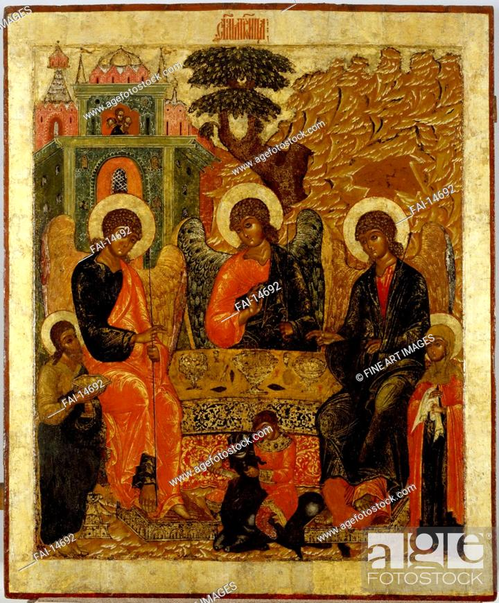 The Hospitality of Abraham (Old Testament Trinity)  Russian