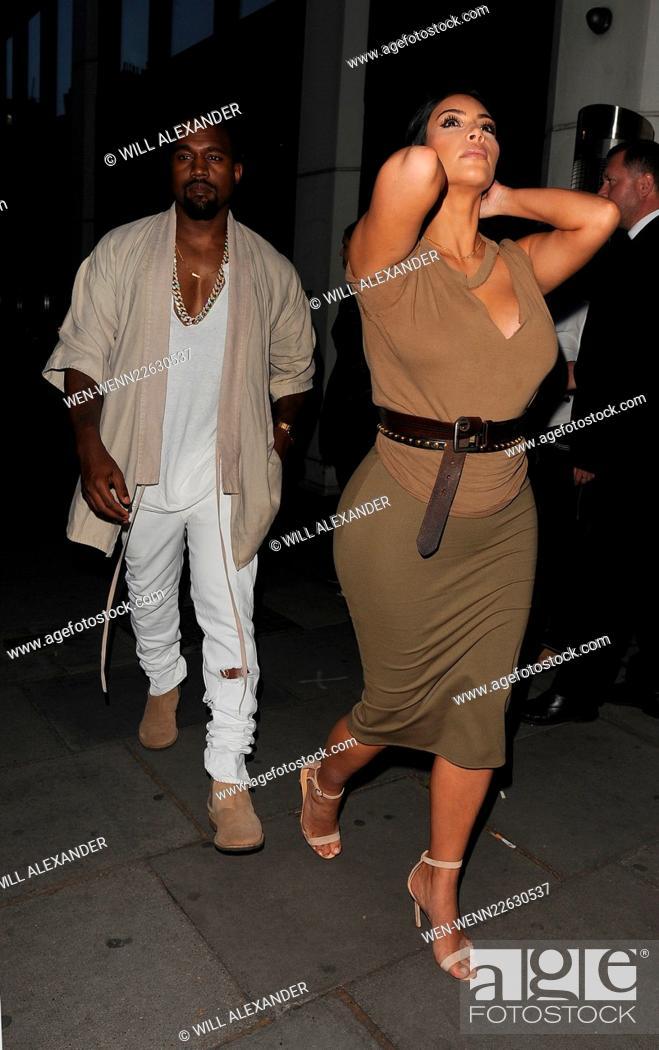 När började Kim Kardashian dating Kanye West