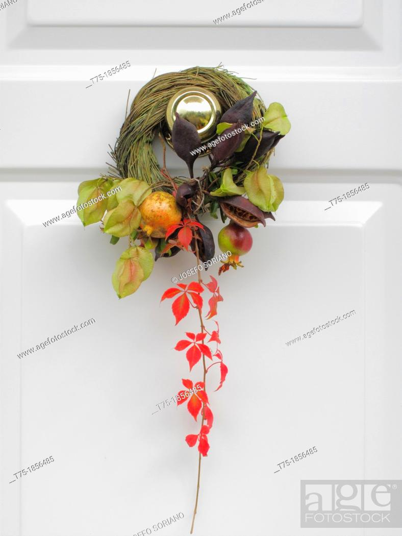 Stock Photo: Crown of vegetable ornament,.