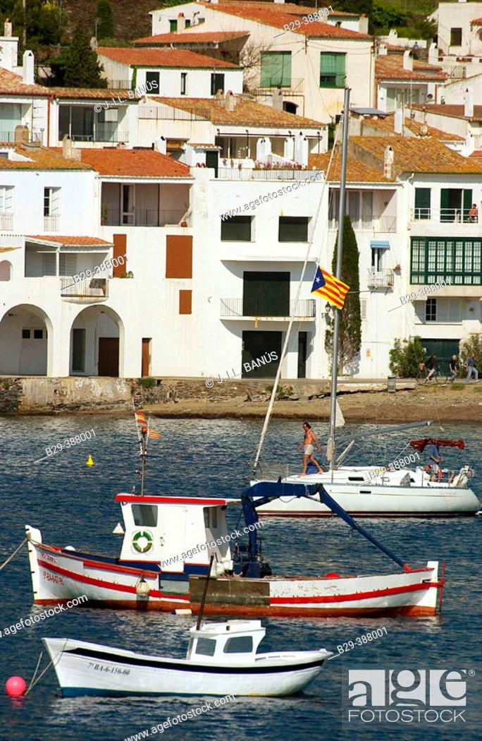 Stock Photo: Cadaqués. Catalonia. Spain.
