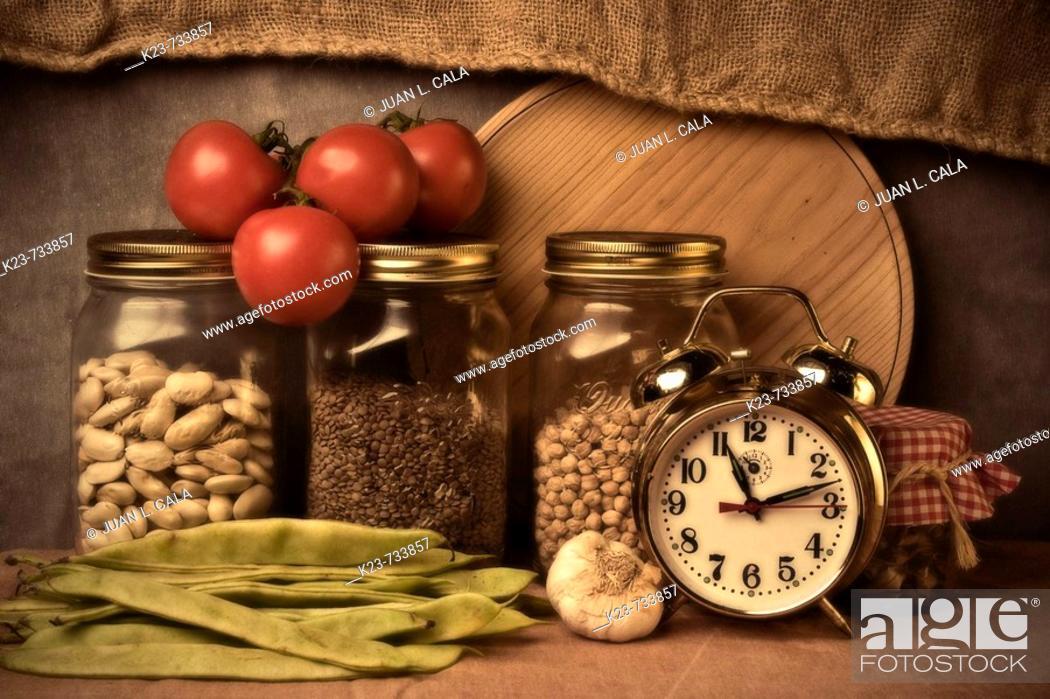 Stock Photo: Bodegón.