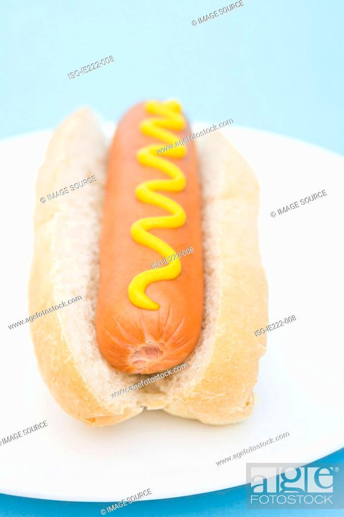 Stock Photo: Hotdog.