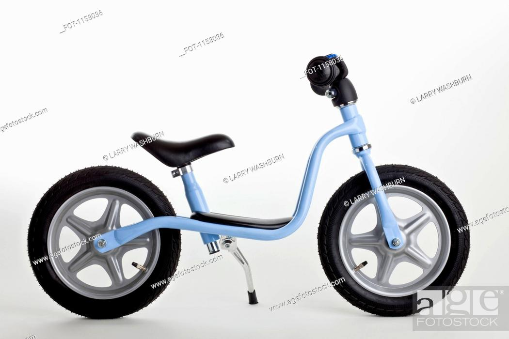 Stock Photo: A miniature toy bicycle.