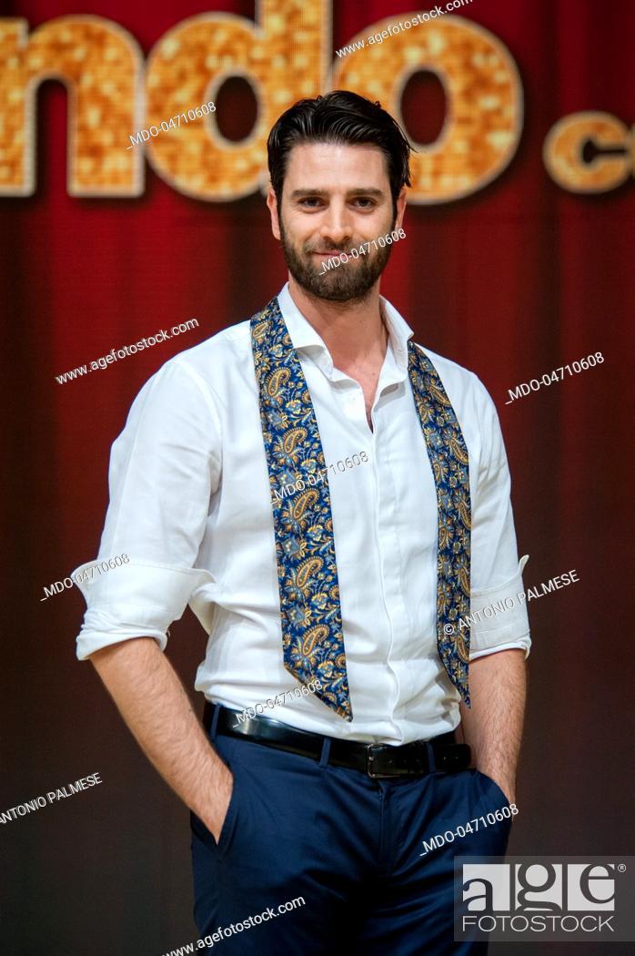Imagen: Actor Antonio Palmese at the press conference of the RAI TV show Ballando con le stelle in Auditorium Rai Foro Italico. Rome (Italy), February 23, 2017.