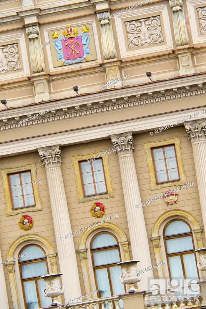 Imagen: Traditional Architecture, Saint Petersburg, UNESCO World Heritage, Russia.