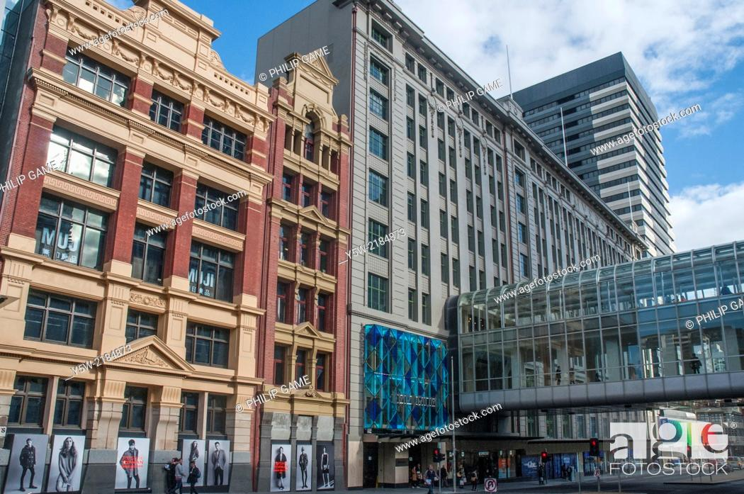 Stock Photo: Newly-opened Emporium shopping mall in Lonsdale Street, Melbourne.