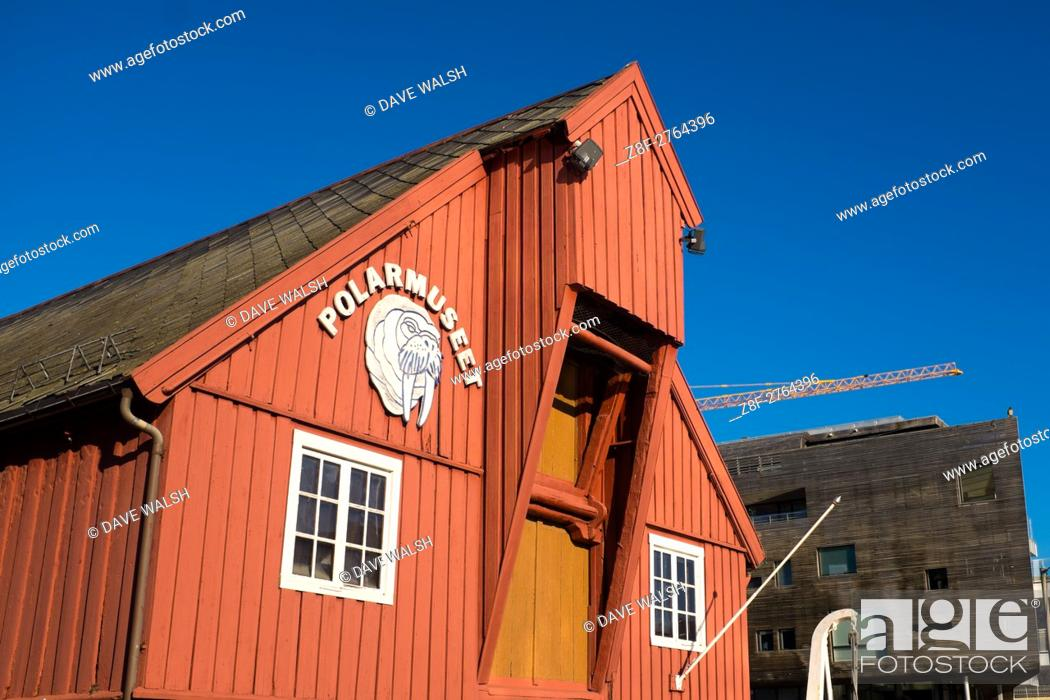 Photo de stock: Polar Museum, Tromso, Norway, run by the University of Tromso.