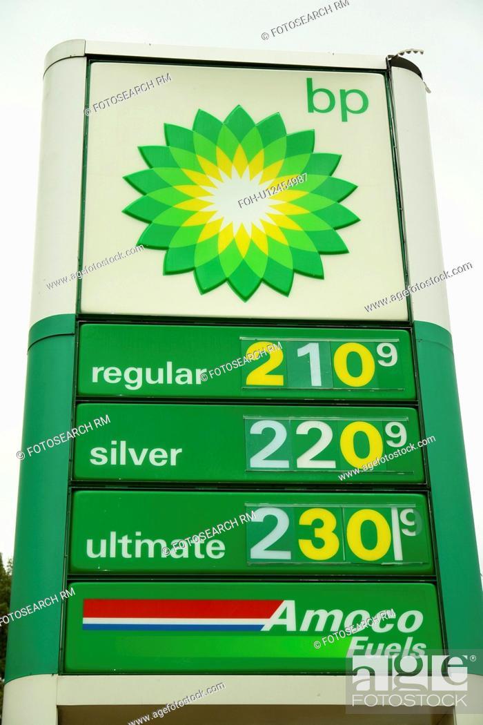 Gas Prices Atlanta >> Atlanta Ga Georgia Bp Gas Station Sign Prices Stock