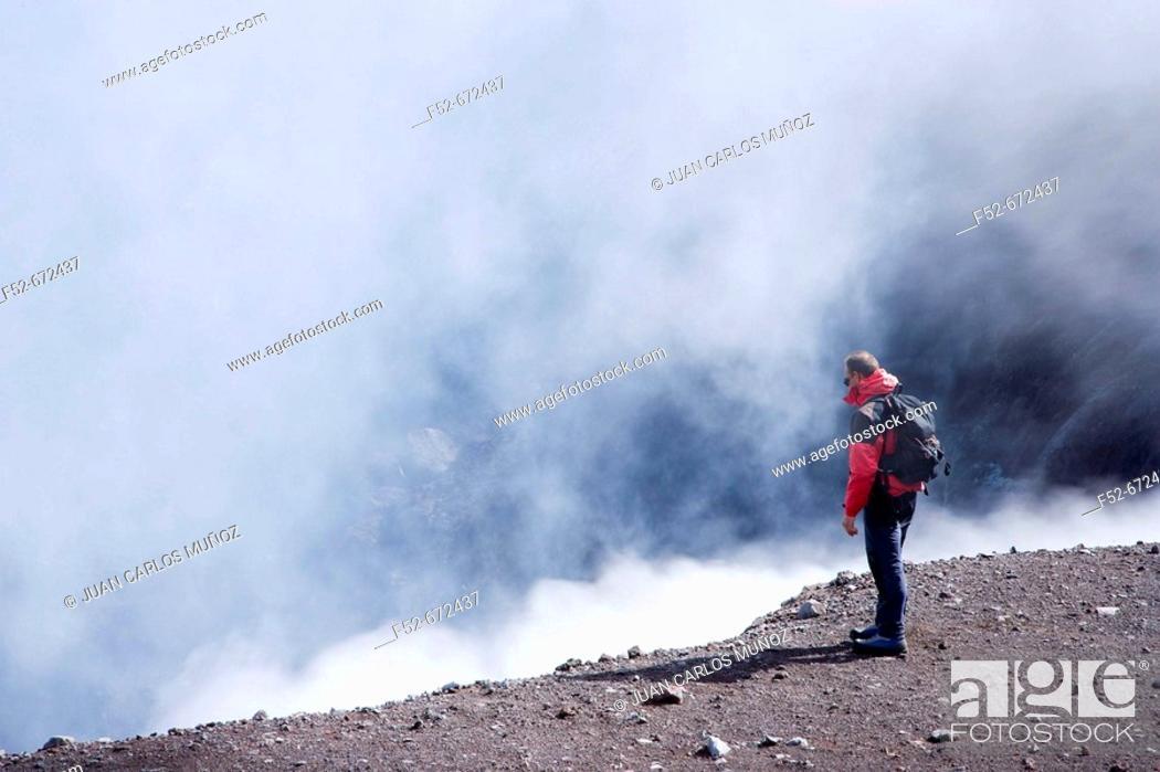 Stock Photo: Mount Etna. Sicily, Italy.