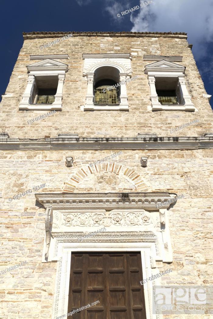 Stock Photo: Basilica of San Salvatore, UNESCO site, Spoleto, Umbita, Italy.
