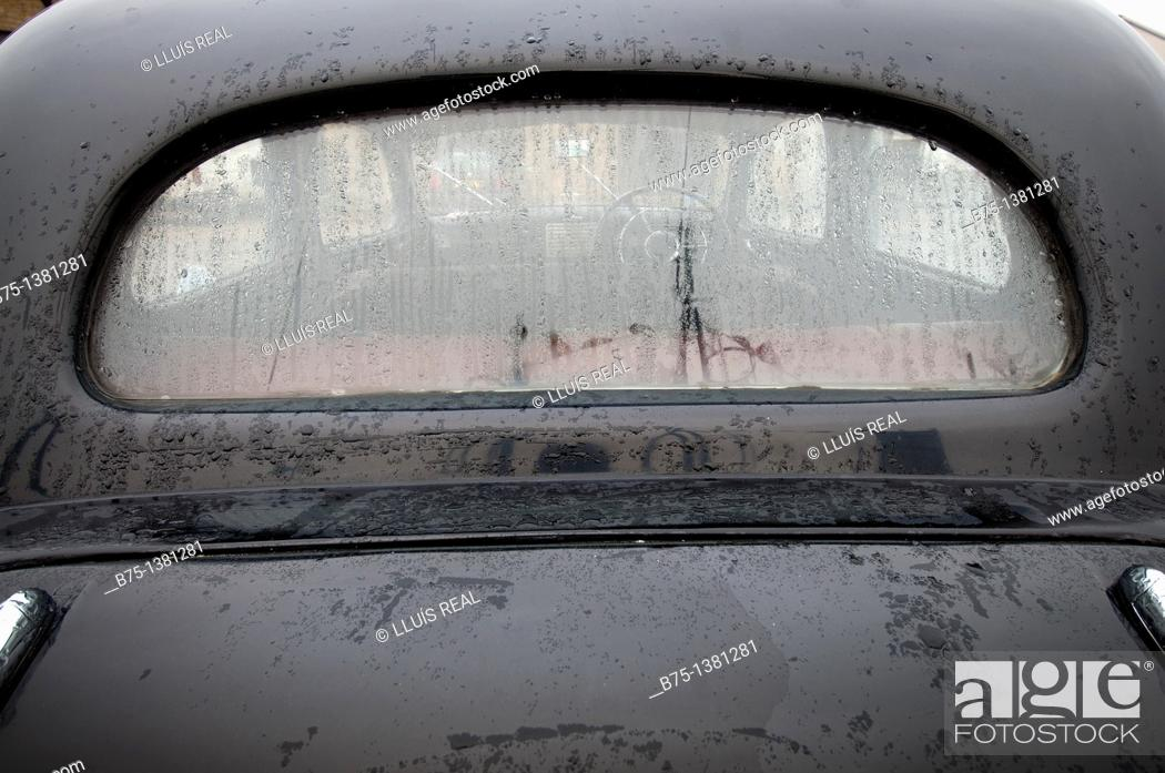 Stock Photo: Old car.