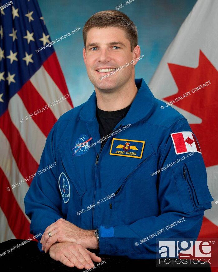 Stock Photo: Jeremy Hansen, Canadian Space Agency astronaut candidate class of 2009.