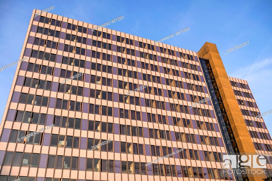 Stock Photo: Modern architecture in Eindhoven, The Netherlands, Europe.