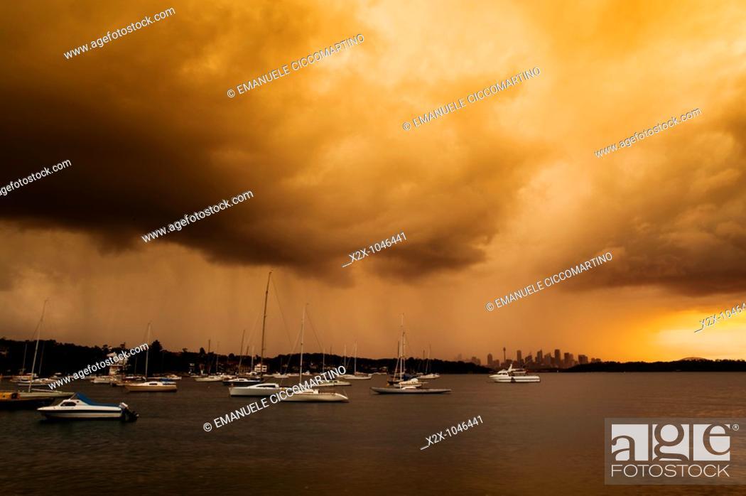 Stock Photo: Parsley Bay, New South Wales, Australia.