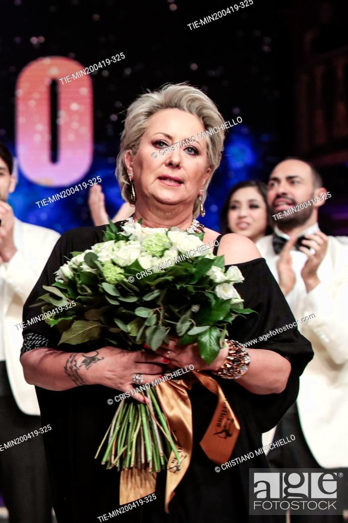 Imagen: Carolyn Smith at the tv show Ballando con le stelle (Dancing with the stars) Rome, ITALY-20-04-2019.