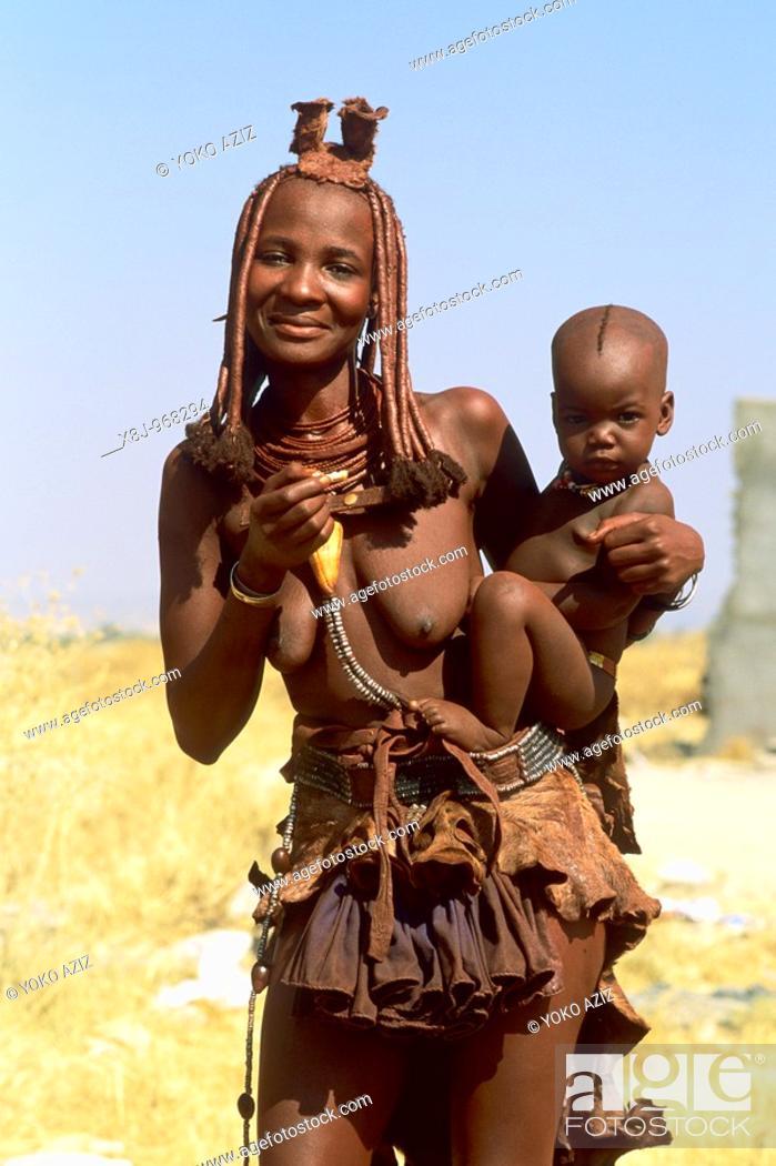 Imagen: namibia, himba, opuwo.