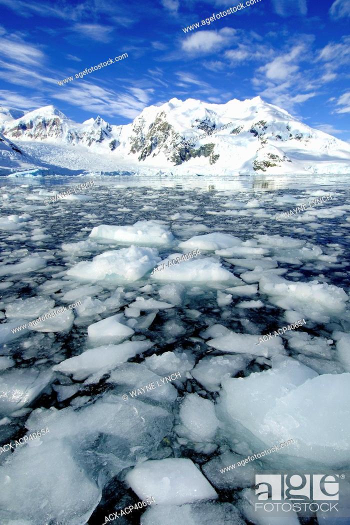 Imagen: Paradise Bay, Antarctic Peninsula, Antarctica.