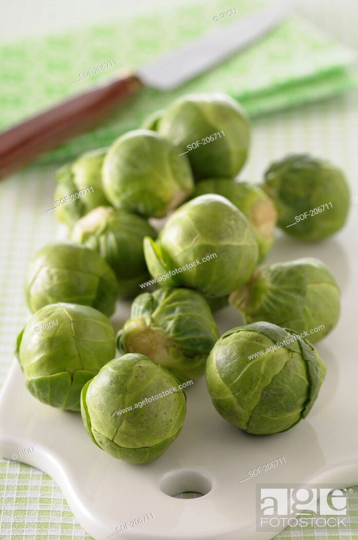 Stock Photo: Brussels sprouts.