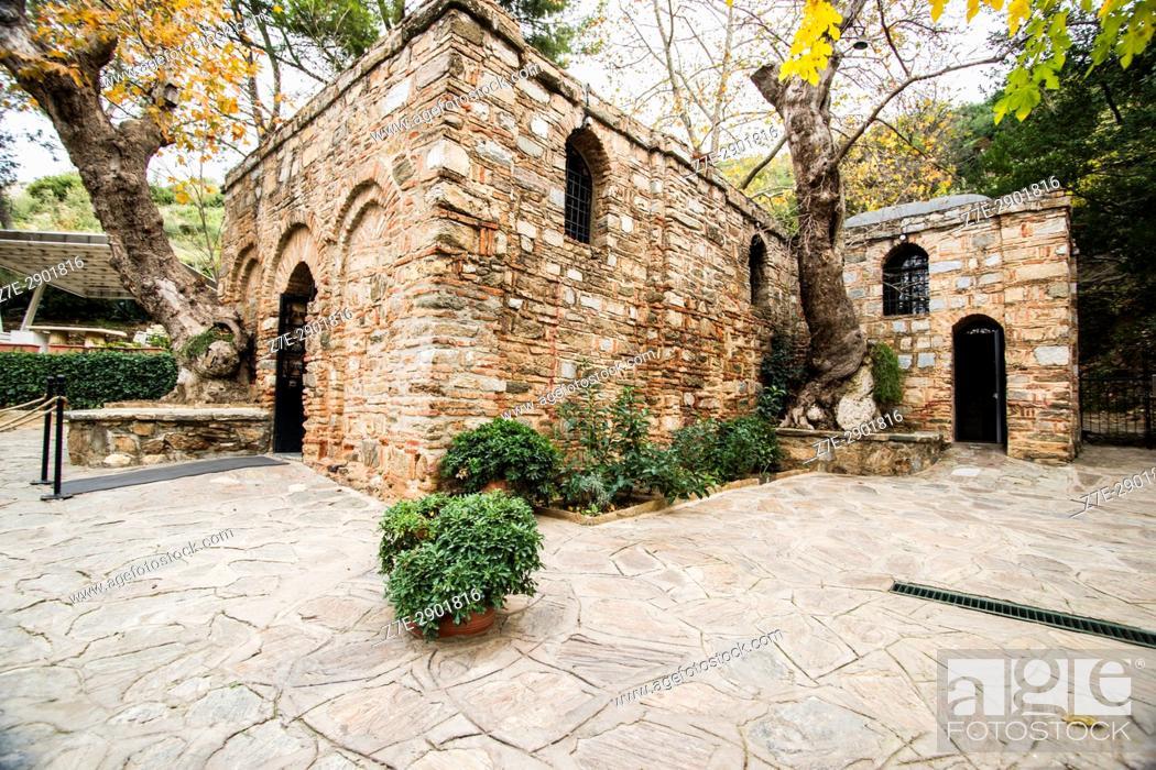 Stock Photo: House of Virgin Mary, Ephesus, Turkey.