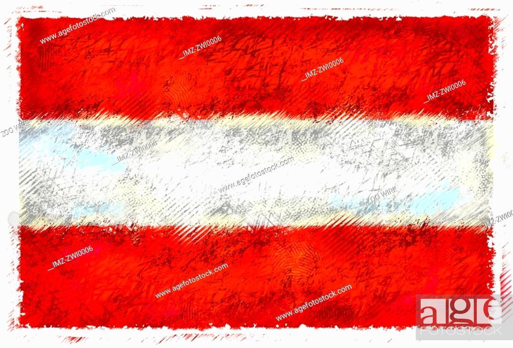 Stock Photo: Flag of Austria.