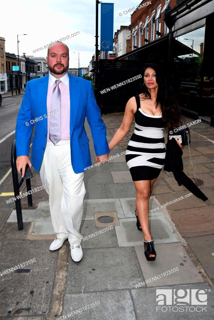 Stock Photo: Hereford Films Summer Party at the Jam Tree In the Kings Road Featuring: Jonathan Sothcott, Janine Nerissa Broadhead Where: London.
