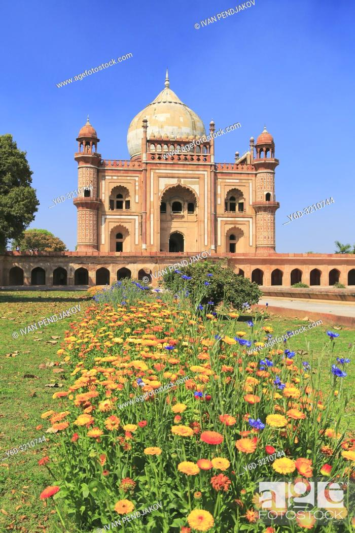 Imagen: Safdarjung Tomb, New Delhi, India.
