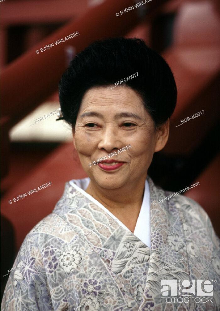Stock Photo: Japanese woman.