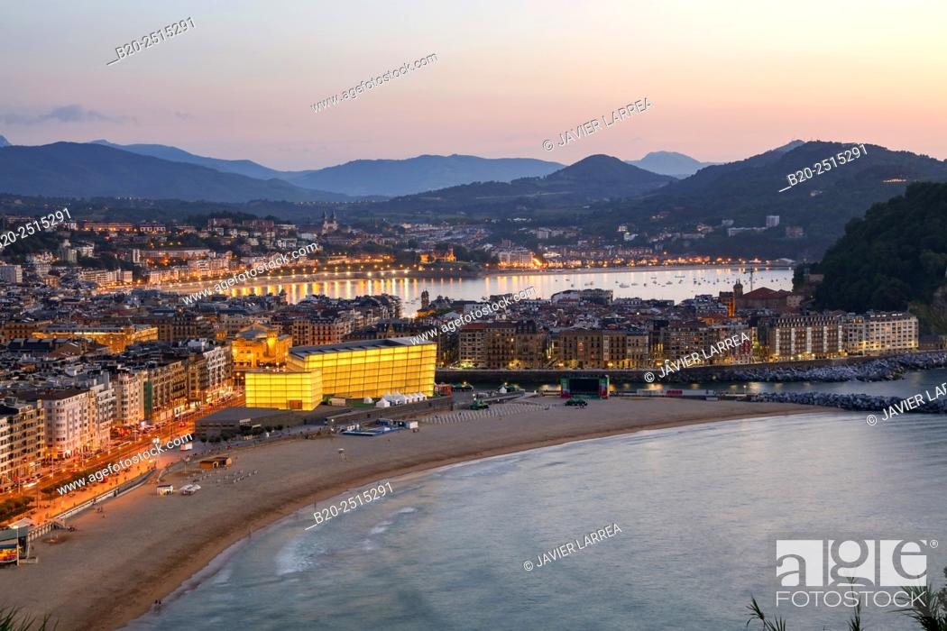 Stock Photo: Kursaal. La Zurriola beach. Donostia. San Sebastian. Gipuzkoa. Basque Country. Spain.
