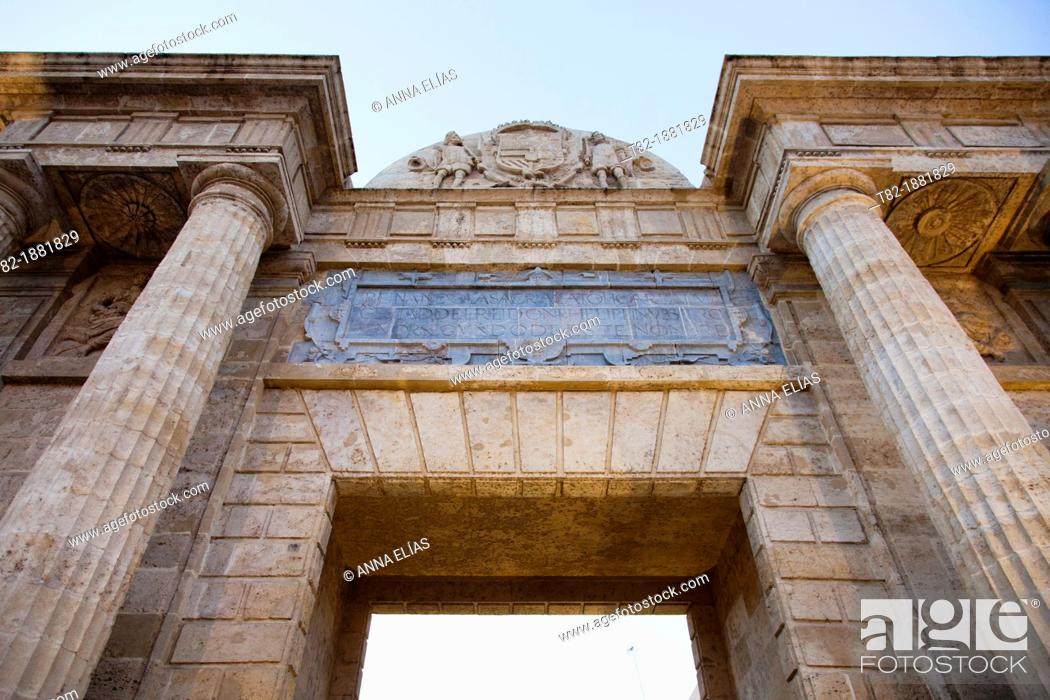 Stock Photo: Arco de San Rafael, Cordoba, Andalucia, Spain.