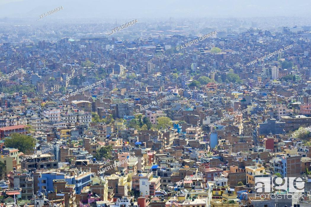Imagen: Cityscape, Kathmandu, Nepal, Asia.