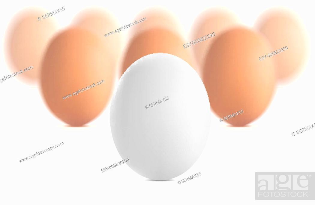 Stock Vector: Egg concept vector illustration.
