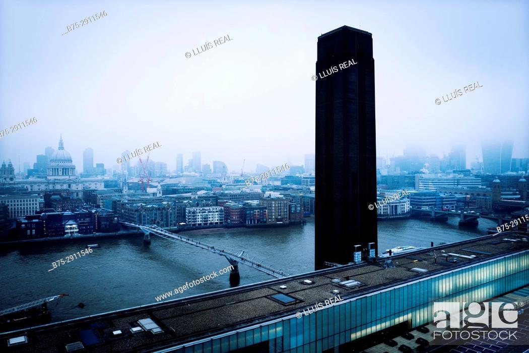 Stock Photo: Cityscape, London, England.