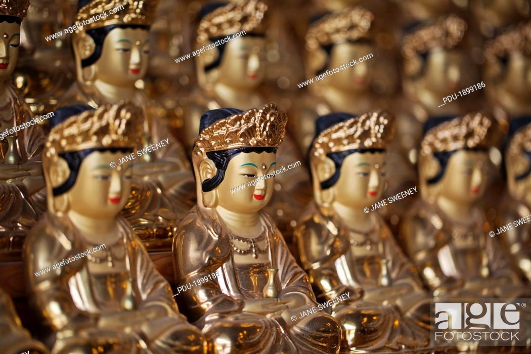 Stock Photo: Bhuddha images.